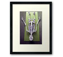 Sivasana - 'The Corpse' Pose Framed Print