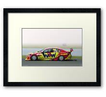 14- V8 supercar Bathurst Framed Print
