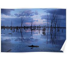 Lake Fyans Poster