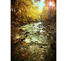 American Fork River - Downstream Photographic Print