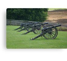Civil War Cannon Canvas Print