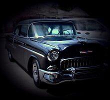 Old Chevy by Al Bourassa