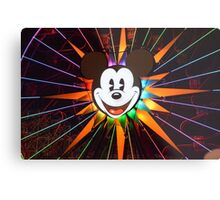 Walt Disney Mickey Mouse Lights Up Metal Print