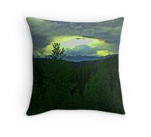 Rockies Dusk Throw Pillow