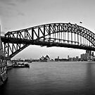 Icelight - Harbour Bridge by Gayan Benedict