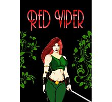 Red Viper Photographic Print