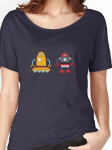robot love in color Women's Relaxed Fit T-Shirt