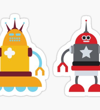 robot love in color Sticker