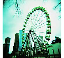 Ferris Wheel Melbourne Photographic Print