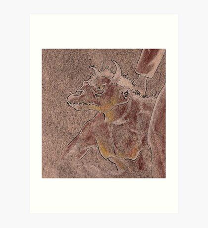 Ghoul Footman Art Print