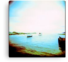Ghosted Boats Canvas Print