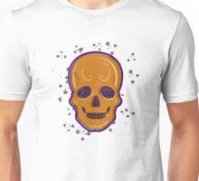 Orange skull Unisex T-Shirt