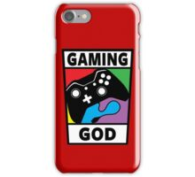 Gaming God iPhone Case/Skin