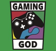 Gaming God Kids Clothes