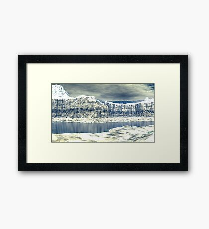 The Last Obstacles Framed Print