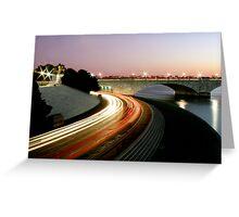 Washington DC - Memorial Bridge Greeting Card