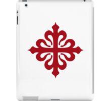 calatravas cross iPad Case/Skin