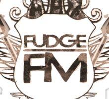 Fudge Fm Sticker