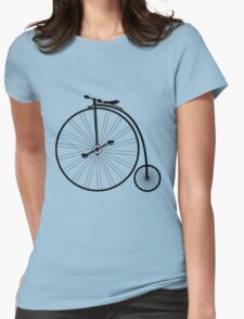 vintage bike  Womens Fitted T-Shirt