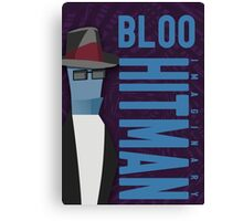 Bloo the hitman Canvas Print