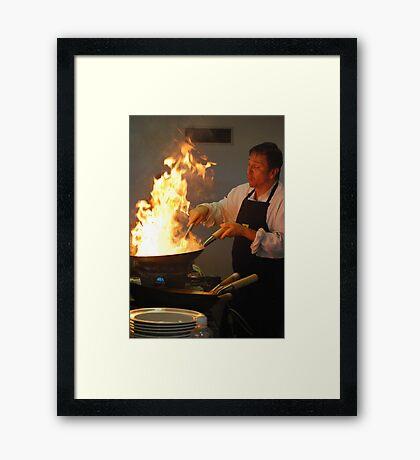 Siamese Watercress Framed Print