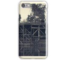 Echuca Wharf iPhone Case/Skin