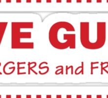 FIVE GUYS Sticker