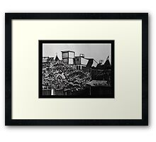 View from Alamo Square Framed Print