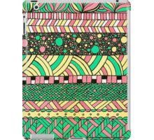 NYC colourful abstract pattern illustration iPad Case/Skin