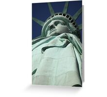 Statue of Liberty New York City Greeting Card