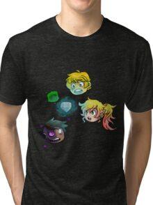 The Haunted: Chibi Heads Tri-blend T-Shirt
