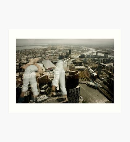 White Jeans and Skylines. Art Print
