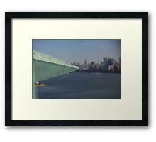 Lady Liberty New York City Framed Print