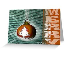 merry holidays Greeting Card