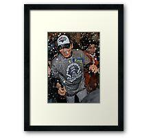 305 Ring Framed Print