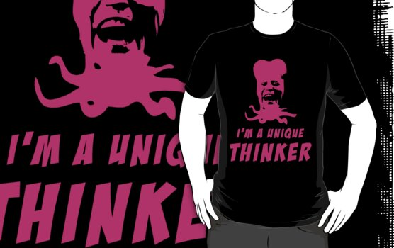 Mighty Boosh - Tony Harrison - Unique Thinker by DementedFerret