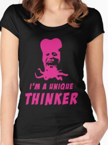 Mighty Boosh - Tony Harrison - Unique Thinker Women's Fitted Scoop T-Shirt