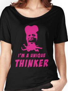 Mighty Boosh - Tony Harrison - Unique Thinker Women's Relaxed Fit T-Shirt