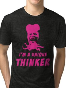 Mighty Boosh - Tony Harrison - Unique Thinker Tri-blend T-Shirt