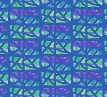 Bold Blue Lines by Betty Mackey