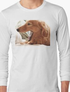 Goldie Yawn Long Sleeve T-Shirt