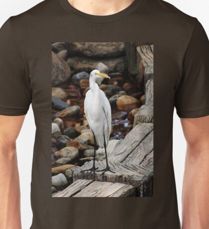 Great Egret Unisex T-Shirt