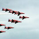 Red Arrows! by Wayne Gerard Trotman