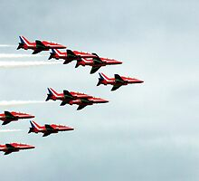 Red Arrows! by Wayne Gerard Trotman