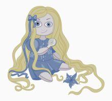 Pretty and weird Rapunzel doll  Kids Clothes