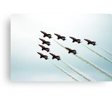 RAF Aerobatic Team Canvas Print