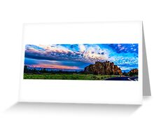Smith Rock Sunrise Greeting Card
