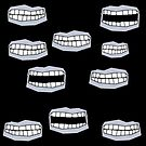 Big mouth design by Ann Morgan