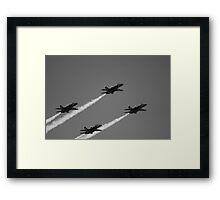 Blue-gray Angels Framed Print