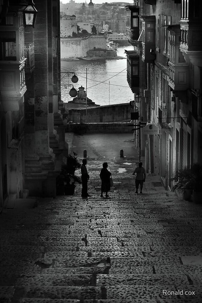Valletta City by Ronald cox